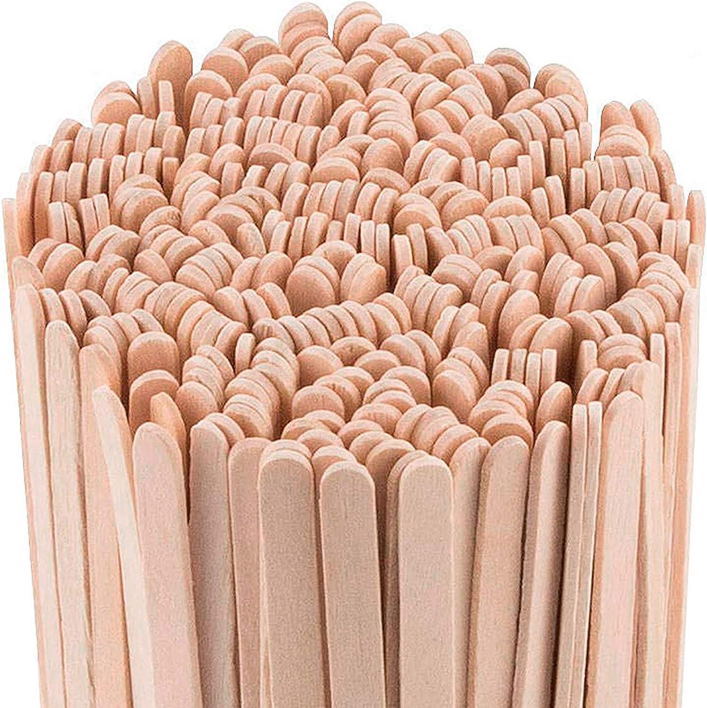 Daddy Chef Coffee Stirrers Sticks, Natural Birch Wood 1000 Count, 5.5