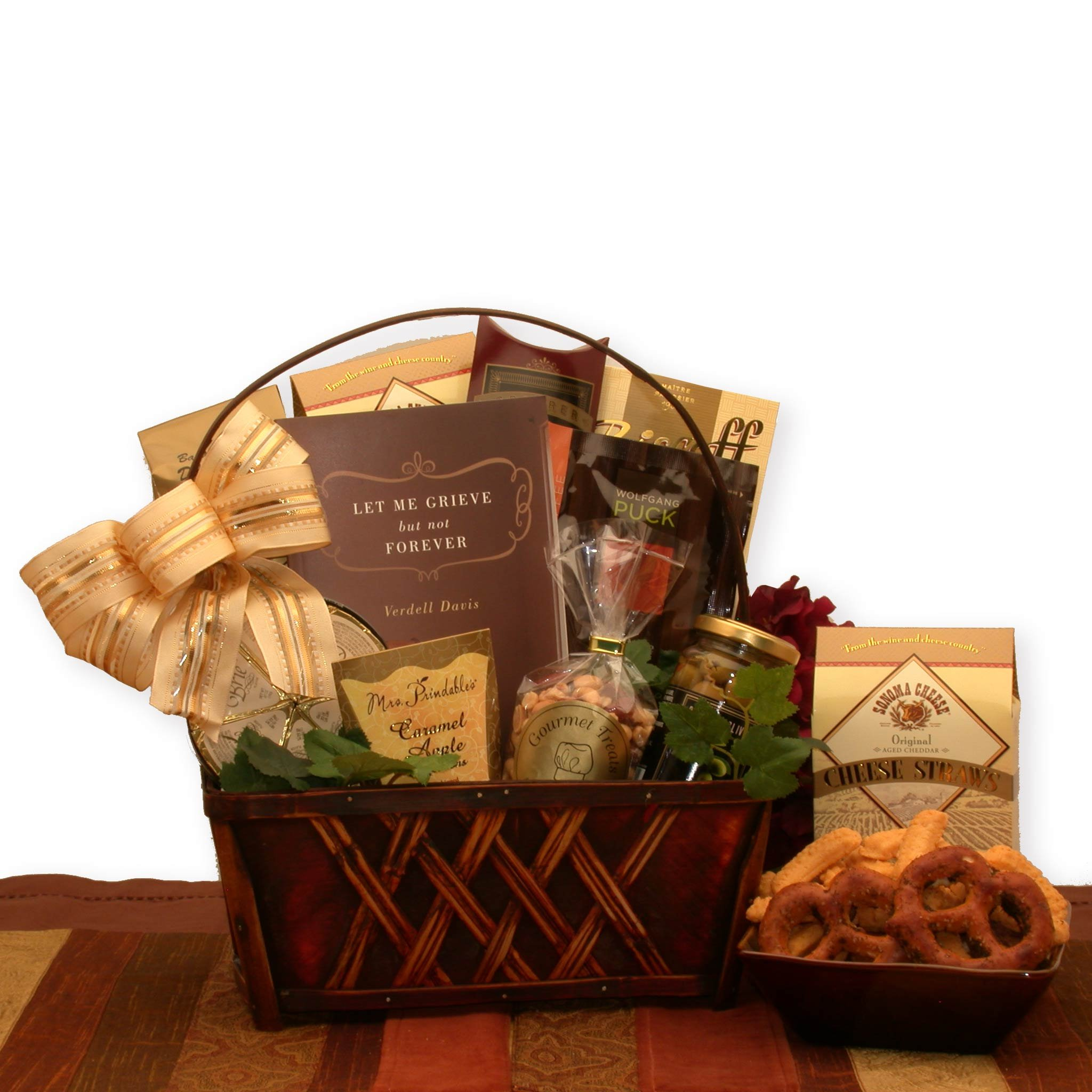 A Time to Grieve Sympathy Gift Basket by Gift Basket Dropshipping (Image #1)