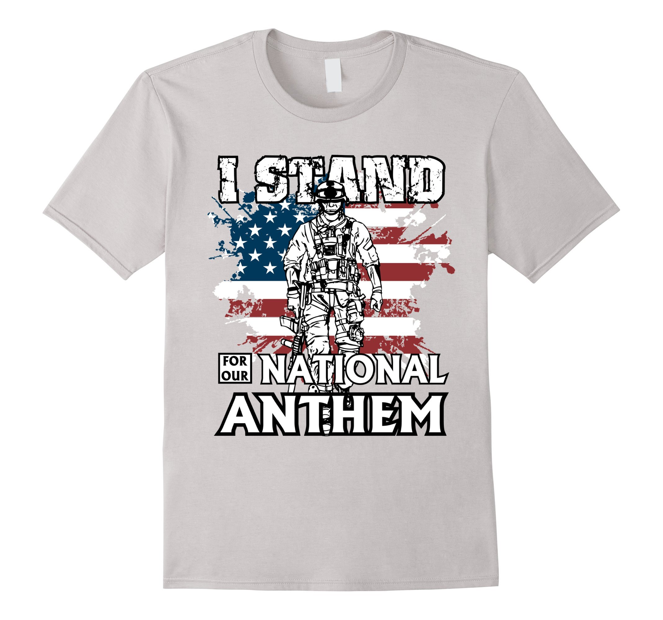 Veteran T-Shirt: I Stand For Our National Anthem T-shirt