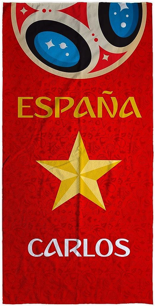 LolaPix Toalla Selección Española Personalizada algodón ESPAÑA ...
