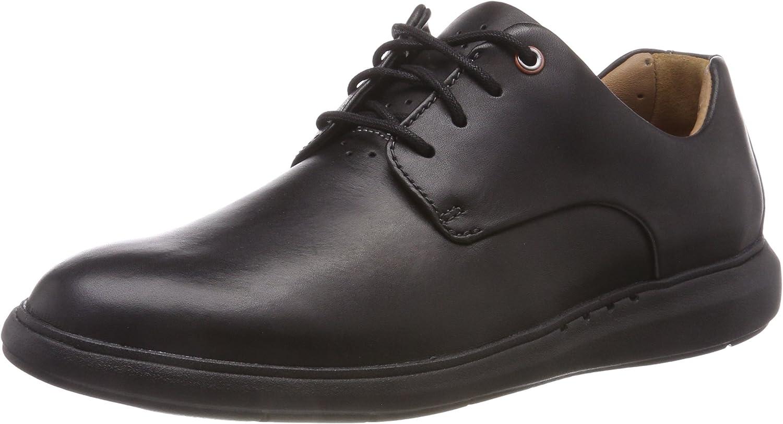 TALLA 48 EU. Clarks Un Voyageplain, Zapatos de Cordones Derby para Hombre