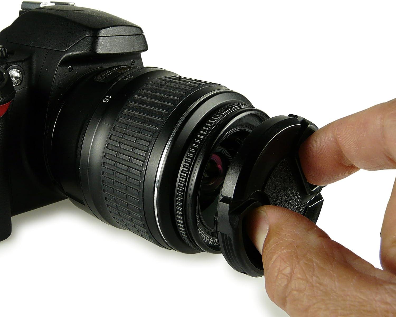 smardy - 55mm Tapa de objetivo para Canon EOS 1100D | 550D | 600D ...