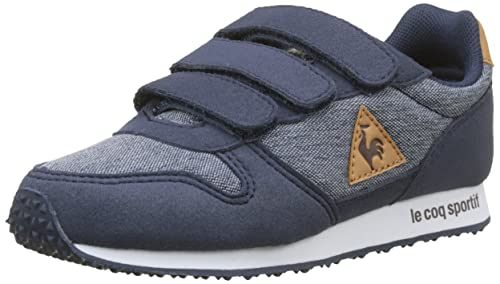 Le COQ Sportif Alpha PS Craft Dress Blue/Brown Sugar, Zapatillas para Niños: Amazon.es: Zapatos y complementos