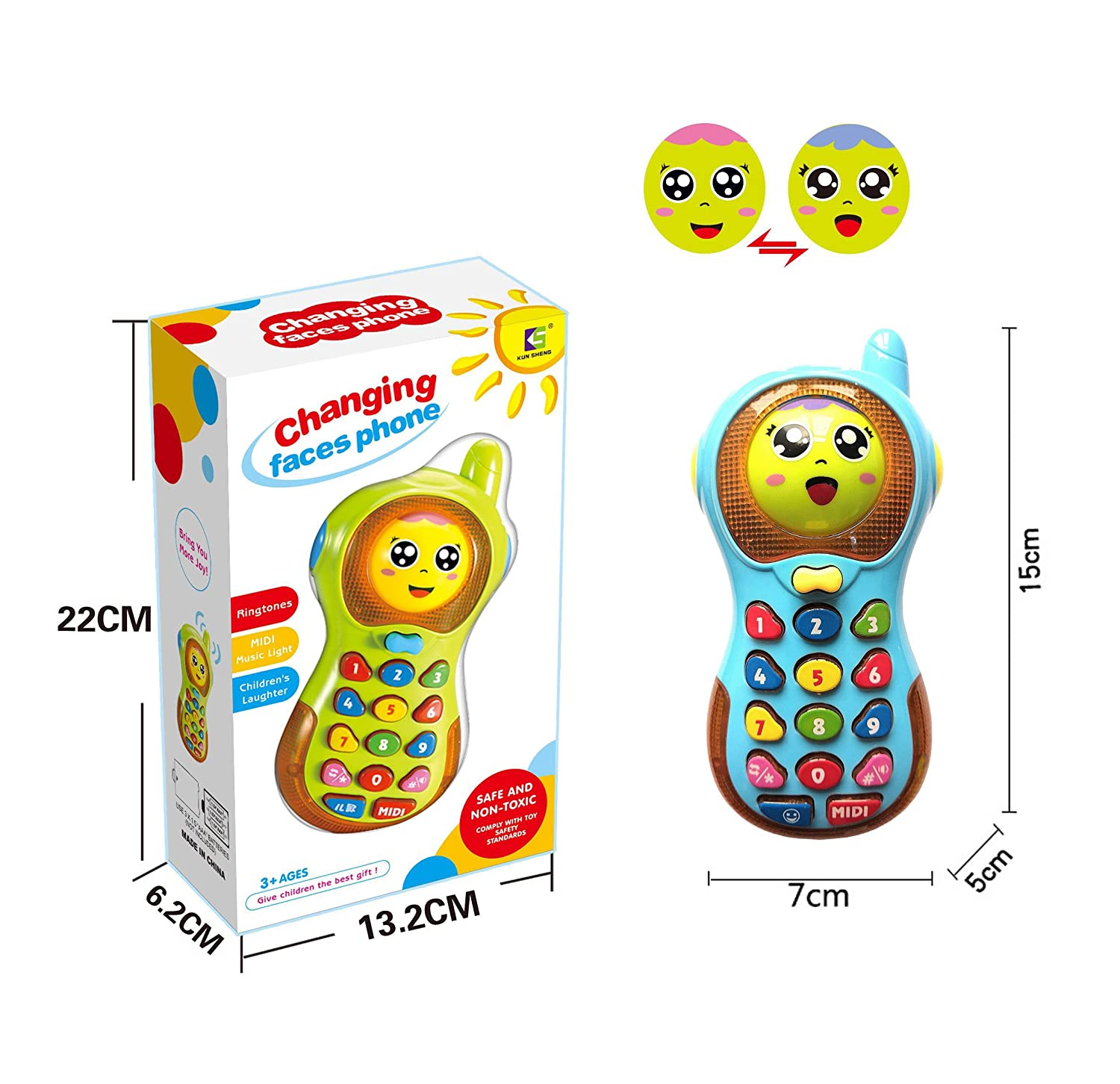 Yita Musical Phone Toy for Kid Toy for 9 Months Old Baby