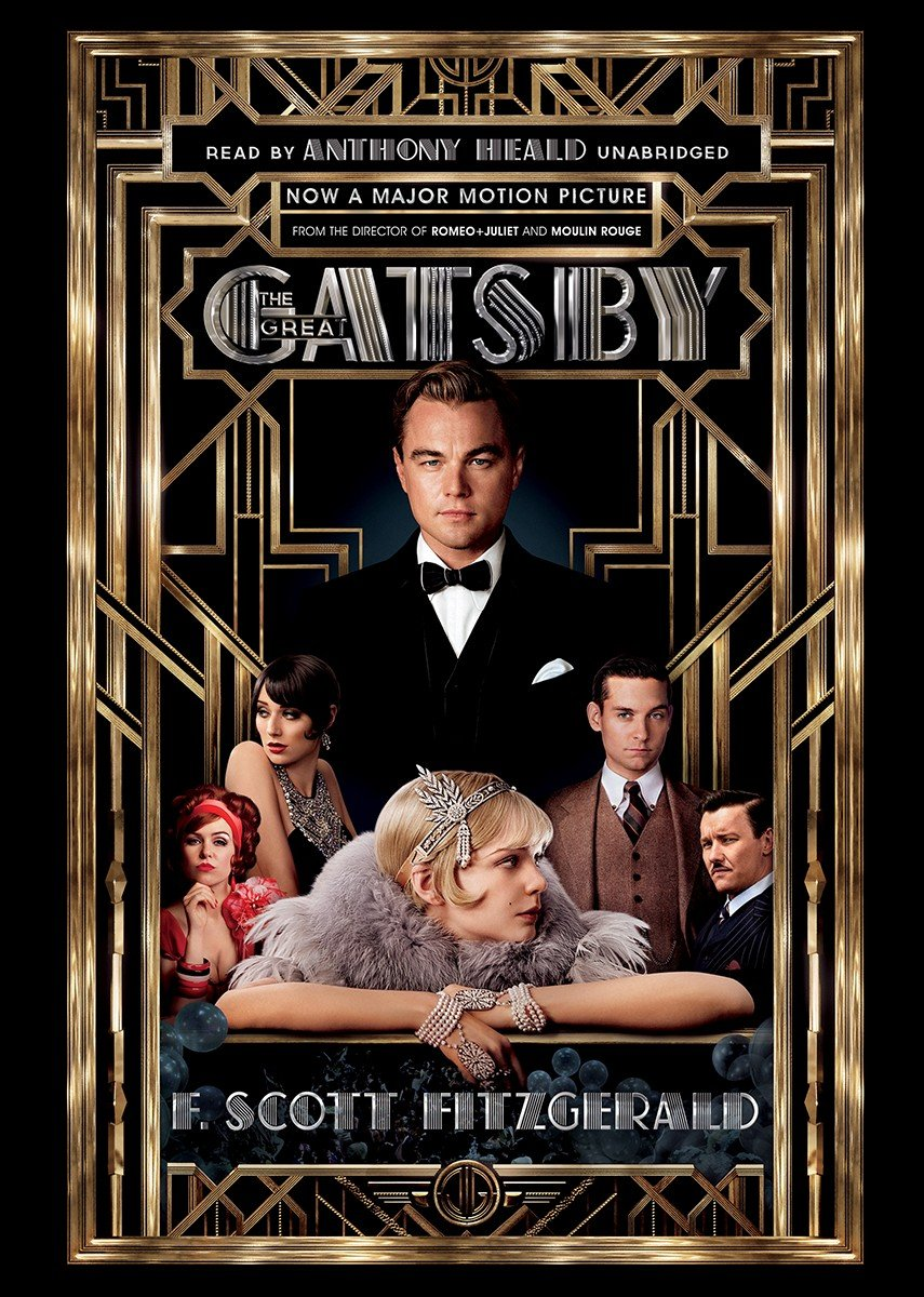The Great Gatsby: Library Edition: F  Scott Fitzgerald