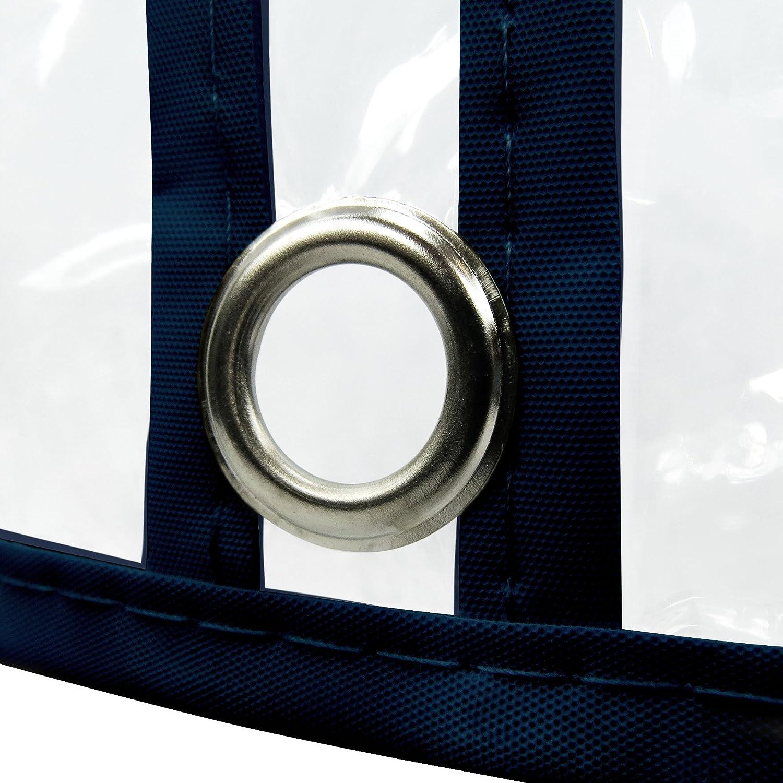 Hangerworld 18 Wasserabweisende Kleiderhüllen 152cm 152cm 152cm Transparent Mit buntem Saum Kleidersack B005EMP0UY Kleiderscke 04ef13