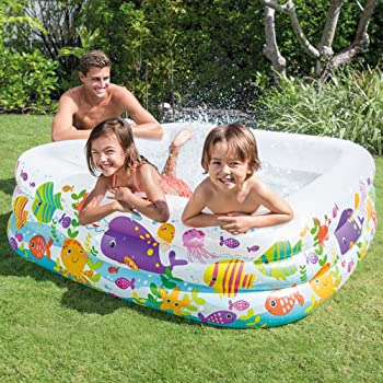 Intex Swim Center Clearview Aquarium Inflatable Pool