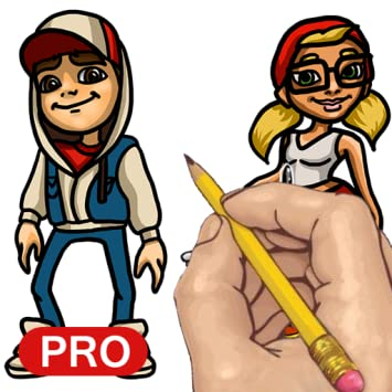 How to Draw: Subway Surfers Characters Pro