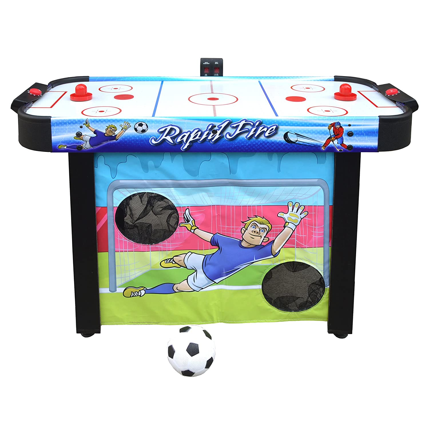 Amazon.com : Hathaway Rapid Fire 42 In 3 In 1 Air Hockey Multi Game Table  Multi : Sports U0026 Outdoors