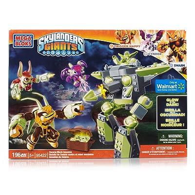 Mega Bloks Skylanders Giants 95422 Swarm Mech Invasion: Toys & Games
