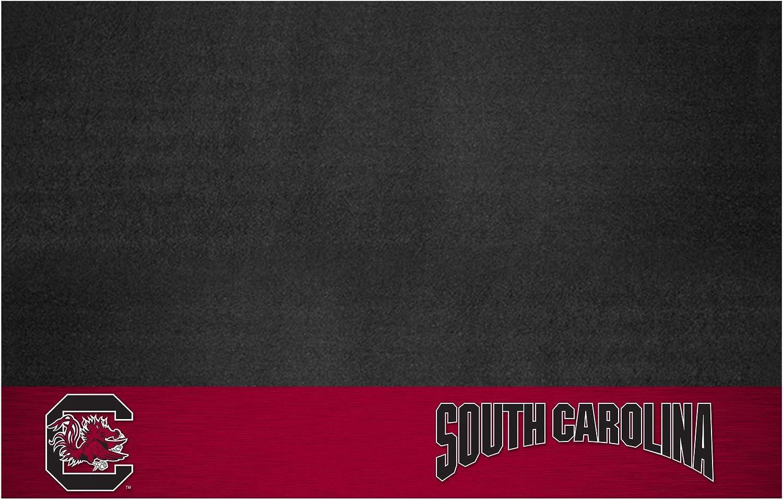 FANMATS NCAA University of South Carolina Gamecocks Vinyl Grill Mat