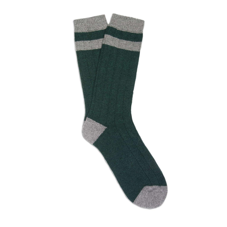 Soxiety Mens Michael Bastian Cashmere Blend Bottle Socks Green