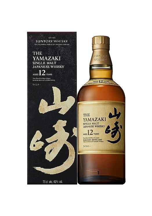 Frisk Suntory Yamazaki Whisky 12 Year Old 70cl: Amazon.co.uk: Grocery JC-95