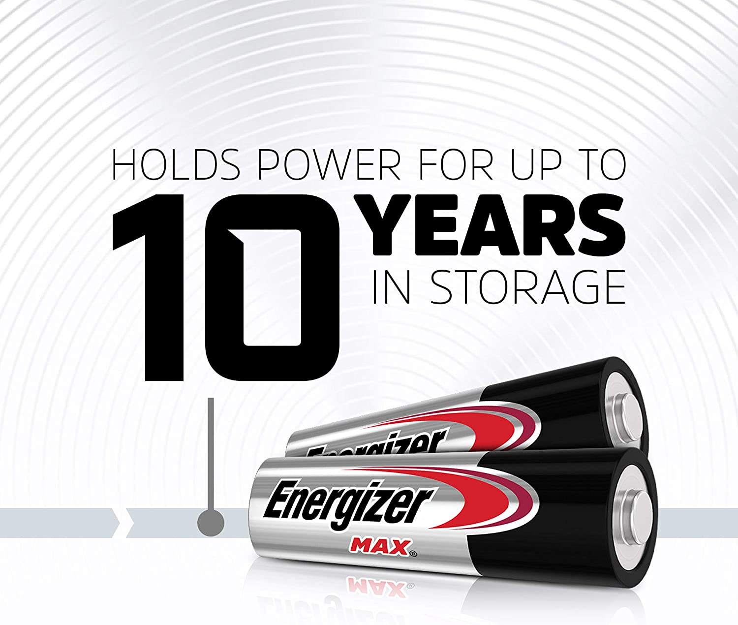 Energizer AA Batteries (20 Count), Double A Max Alkaline Battery: Health & Personal Care