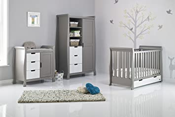Taupe Grey Stamford Classic Sleigh 3 Piece Room Set