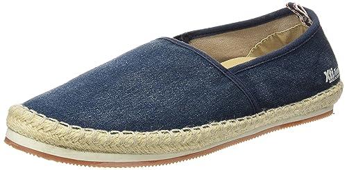 XTI 046403, Alpargatas para Hombre, Azul (Navy), 45 EU: Amazon.es: Zapatos y complementos