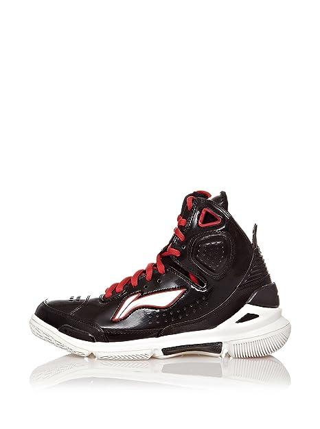 Li-Ning Basketball Shoe Brass Monkey, Botines para Hombre, Negro, 45.5 EU: Amazon.es: Zapatos y complementos