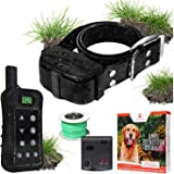 Pet Control HQ Dog Containment System Wireless Perimeter w/ (1 or 2) Shock Collar Kit & Remote - Electric Proximity…