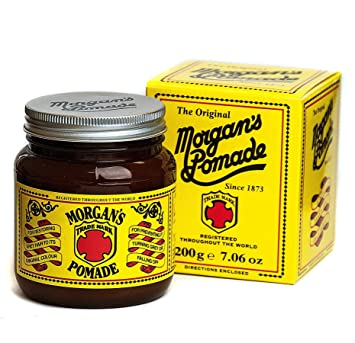 morgans pomade  : Morgan Pomade Amber Jar, 0.44 Pound : Personal Care ...