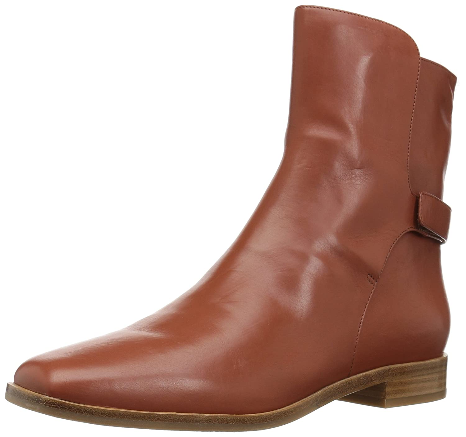 Via Spiga Women's Vaughan Ankle Boot B06XGSV8ZN 7.5 B(M) US|Chestnut Leather