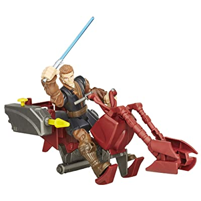 Star Wars Hero Mashers Jedi Speeder and Anakin Skywalker: Toys & Games