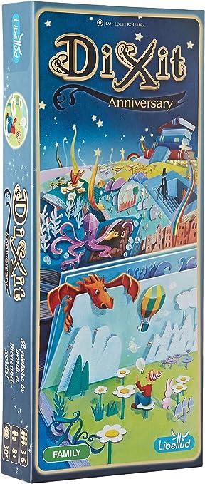 Libellud ASMDIX11EN2 Dixit: 10º aniversario de expansión, varios colores , color/modelo surtido: Amazon.es: Juguetes y juegos
