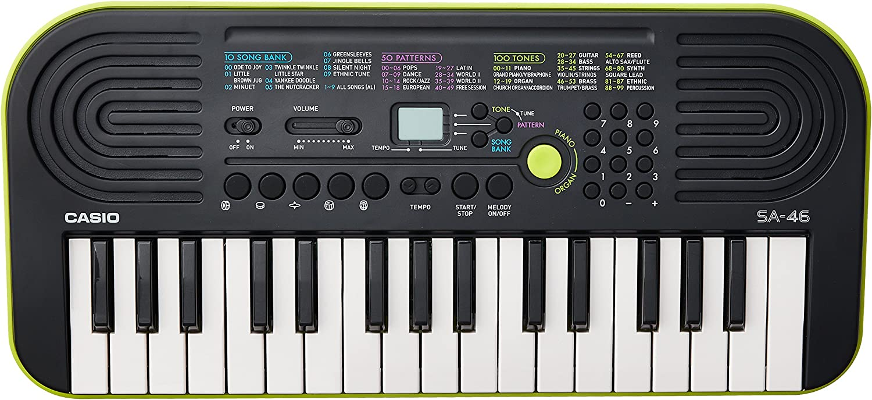 Casio SA-46H5 SA-46 - Teclado electrónico (32 teclas mini ...
