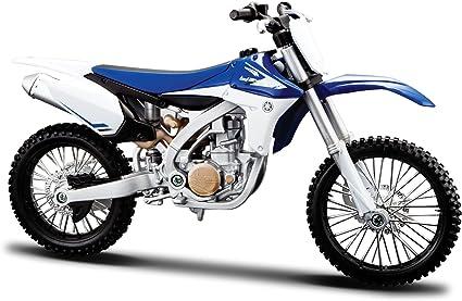 Maisto 1:12 YAMAHA YZ450F Assembly line Kit Motorcycle Model New Blue