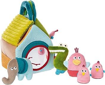 Lern und Experimentierspielzeug Mehrfarbig M/ädchen und Jungen sigikid Kegelspiel 41507 PlayQ Wuller Wullawoods