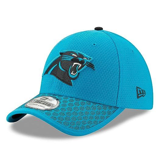 5fd5aca84 New Era 2017 NFL Sideline Carolina Panthers Flex Fit Cap Turquoise Black (S