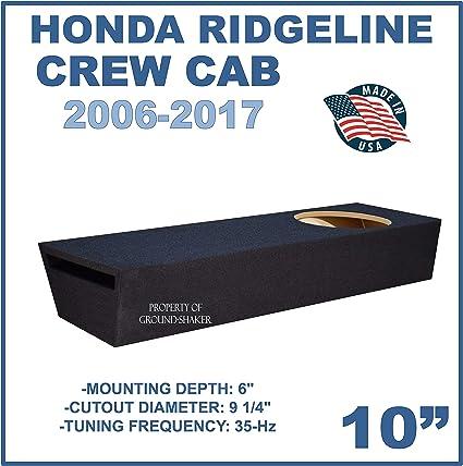 Honda Ridgeline Dual 12/'/' Subwoofer Enclosure Sub Box 2006-2015