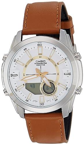 8b4820096946 Casio Enticer Men s Analog-Digital Silver Dial Men s Watch - A1221 (AMW-810L