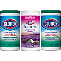 Clorox Disinfecting Wipes Value Pack, Bleach Free Cleaning Wipes, 3 Pack
