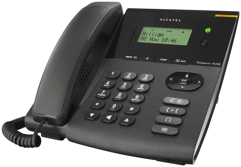 Téléphone par VOIP ALCATEL TEMPORIS IP200 NOIR