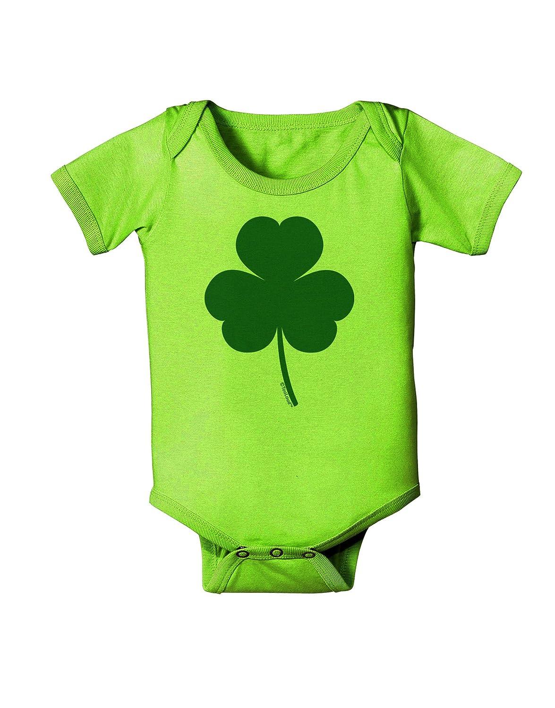 TooLoud Traditional Irish Shamrock Baby Romper Bodysuit