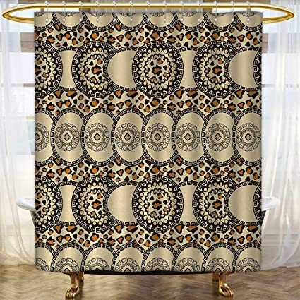 Zambia Shower Curtain Collection By Folk African Safari With Nature And Animal Effects Jungle Boho Design