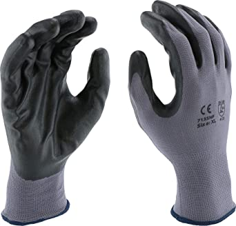 Qualified Scan Black Pu Coated Glove Size 10 Extra Large pack Of 240 Yard, Garden & Outdoor Living Home & Garden