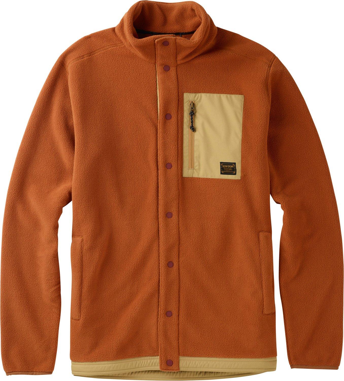 Burton Men's Hearth Snap-Up Fleece Sweaters 173511