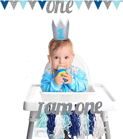 Amazon.com: 10st Birthday High Chair Decorations Baby Boy - High