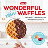 DASH DCB001MW Wonderful Mini Waffles Recipe Book with Gluten, Vegan, Paleo, Dairy + Nut Free Options, Over 80+ Easy to…