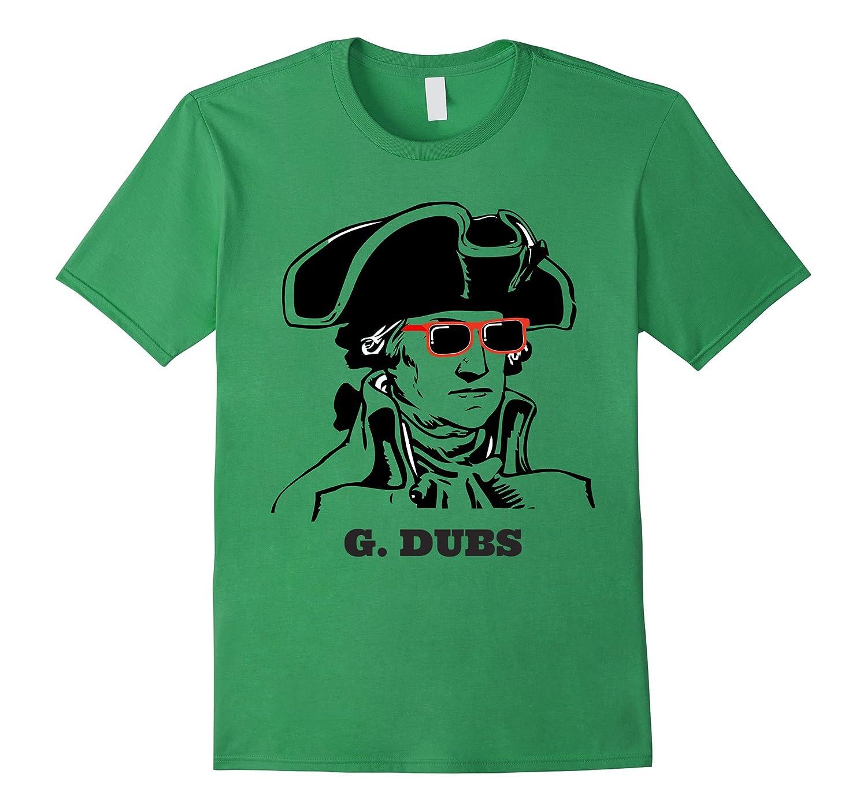 George Washington G. DUBS T-Shirt-Art