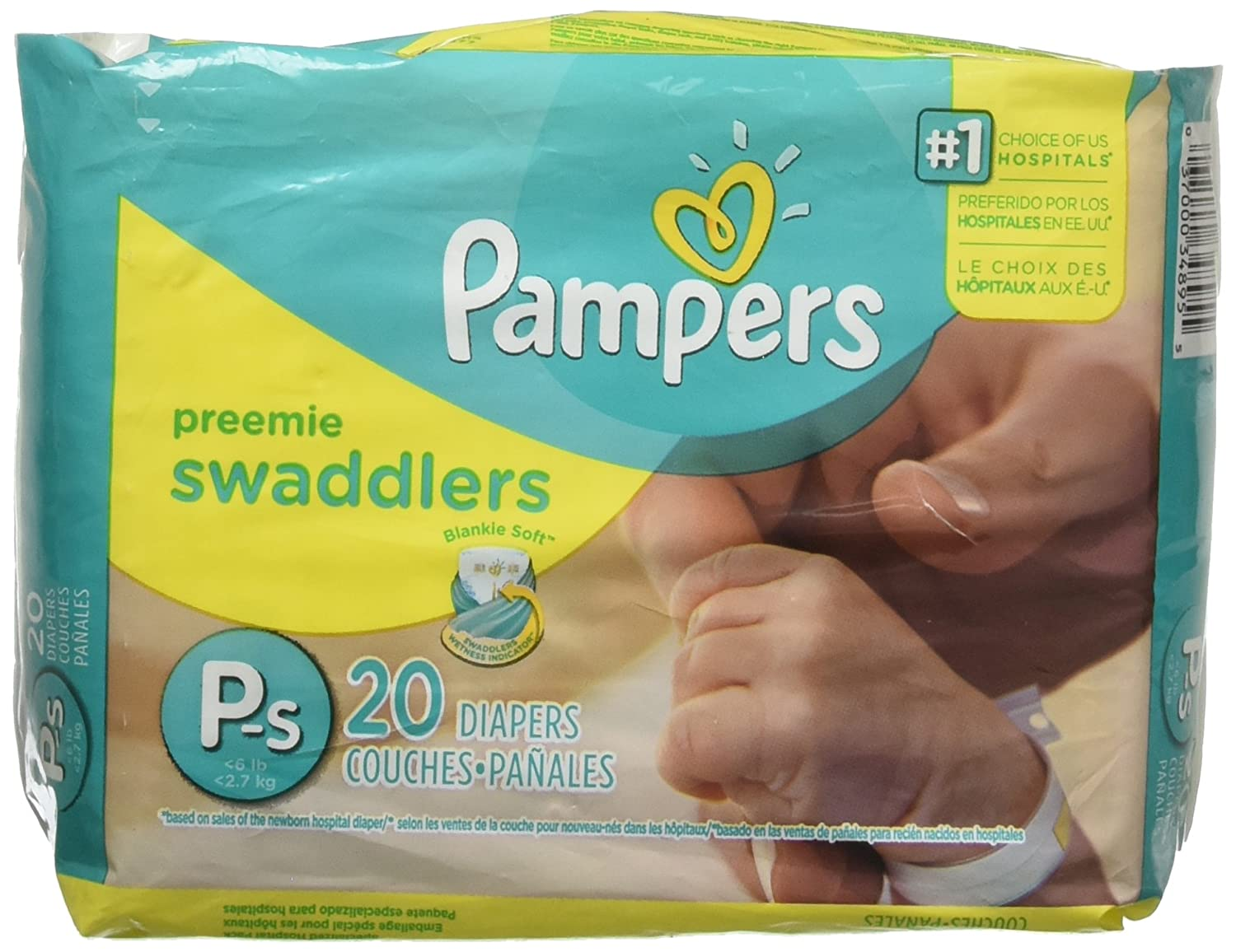 Amazon.com: Pampers Diapers, Size P (Up to 5 lbs): Beauty