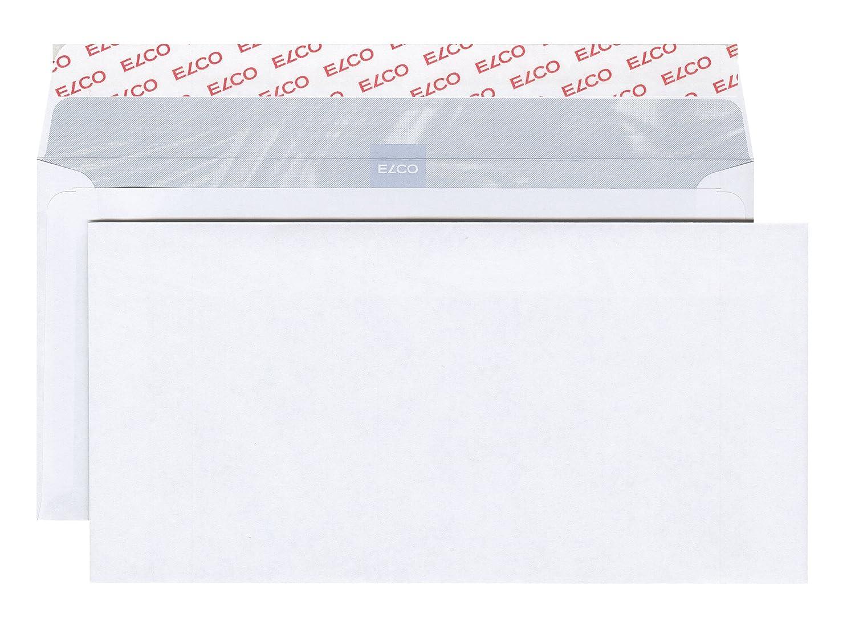 Elco 60281 - Caja de 500 sobres autoadhesivos (formato C5/6), color blanco