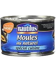Nautilus Moules au Naturel Msc 250 g - Lot de 4