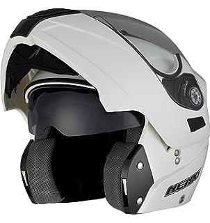 NENKI NK-839 Casco de Moto Moto Moto Moped Scooter Flip Up Modeler Cascos de