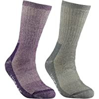 YUEDGE Women's Cushion Merino Wool thermal Winter Outdoor Sports Hiking Socks