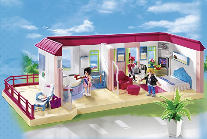 PLAYMOBIL Hotel - Suite, Set de Juego , Multicolor, 45 x 12,5 x 35 ...