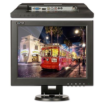 Amazon com : CCTV Monitor, BNC, ZOTER 12