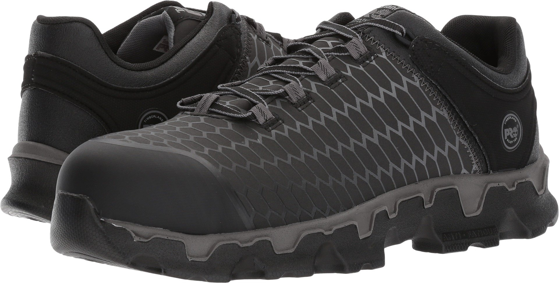 Timberland PRO Men's Powertrain Sport Raptek Alloy Toe EH Industrial and Construction Shoe, Black Raptek, 13 M US