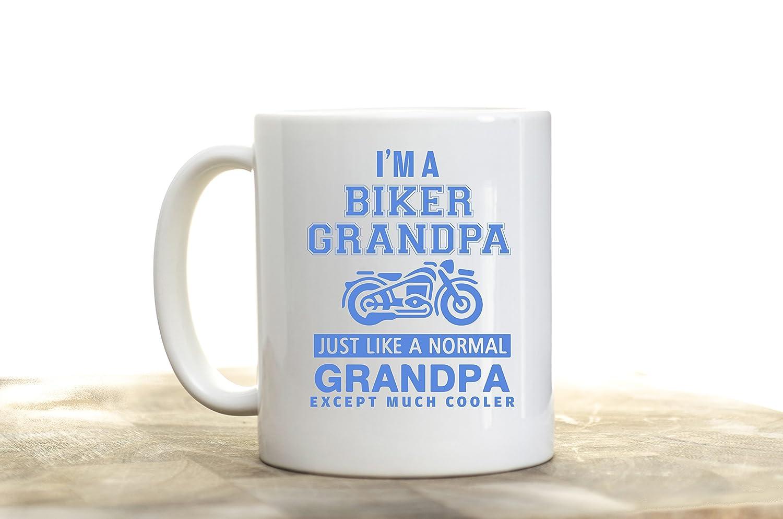 Amazon.com: I\'m Biker Grandpa. Just Like a Normal Grandpa Except ...